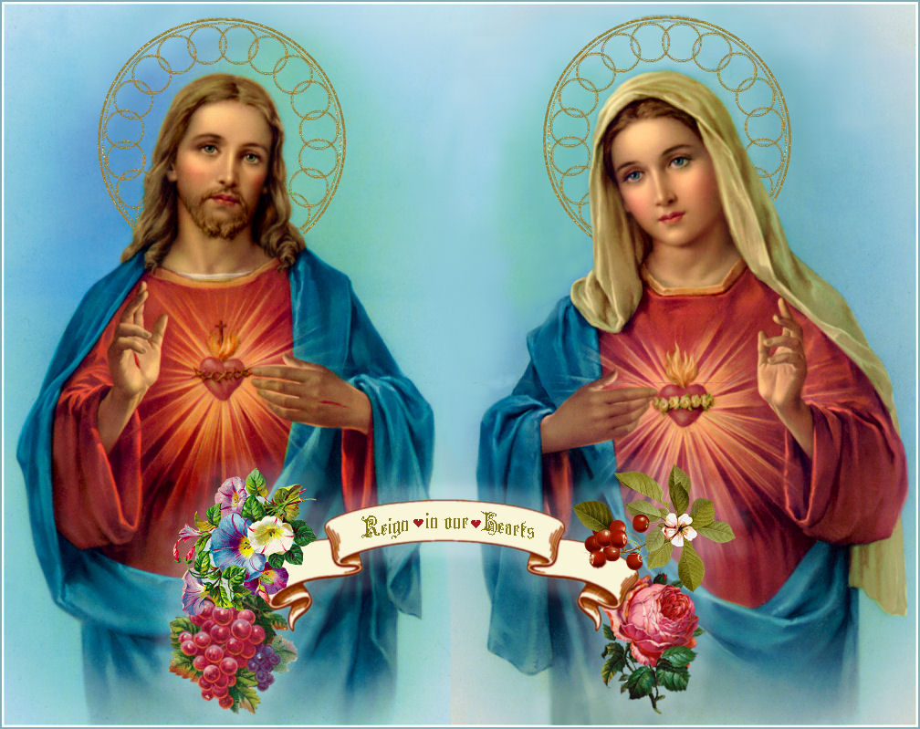 Daily Consecration To The Sacred Hearts Of Jesus And MaryDaily Mary